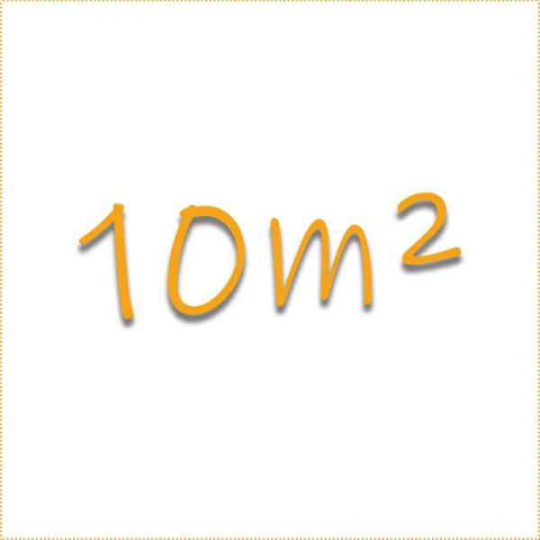10 Quadratmeter