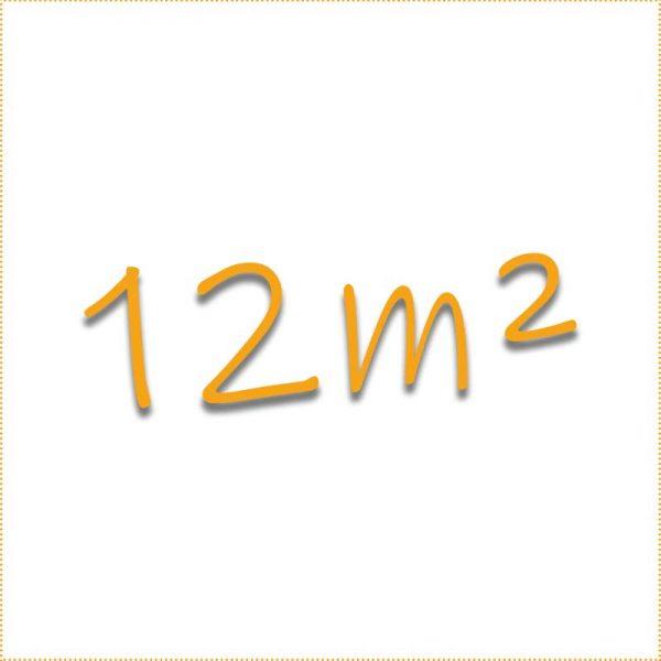 12 Quadratmeter
