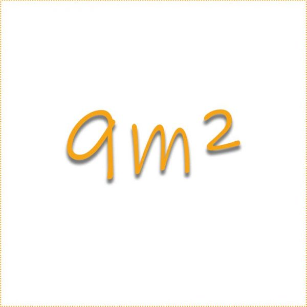 9 Quadratmeter